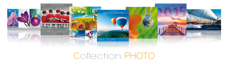 Impression de cartes de vœux Photosud ? Un grand choix de modèles…