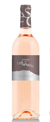 Le vin rosé de l'Escarelle, composé de grenache, de cinsault et de syrah